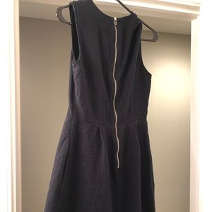 Gap Textured Black Party Dress Size 2